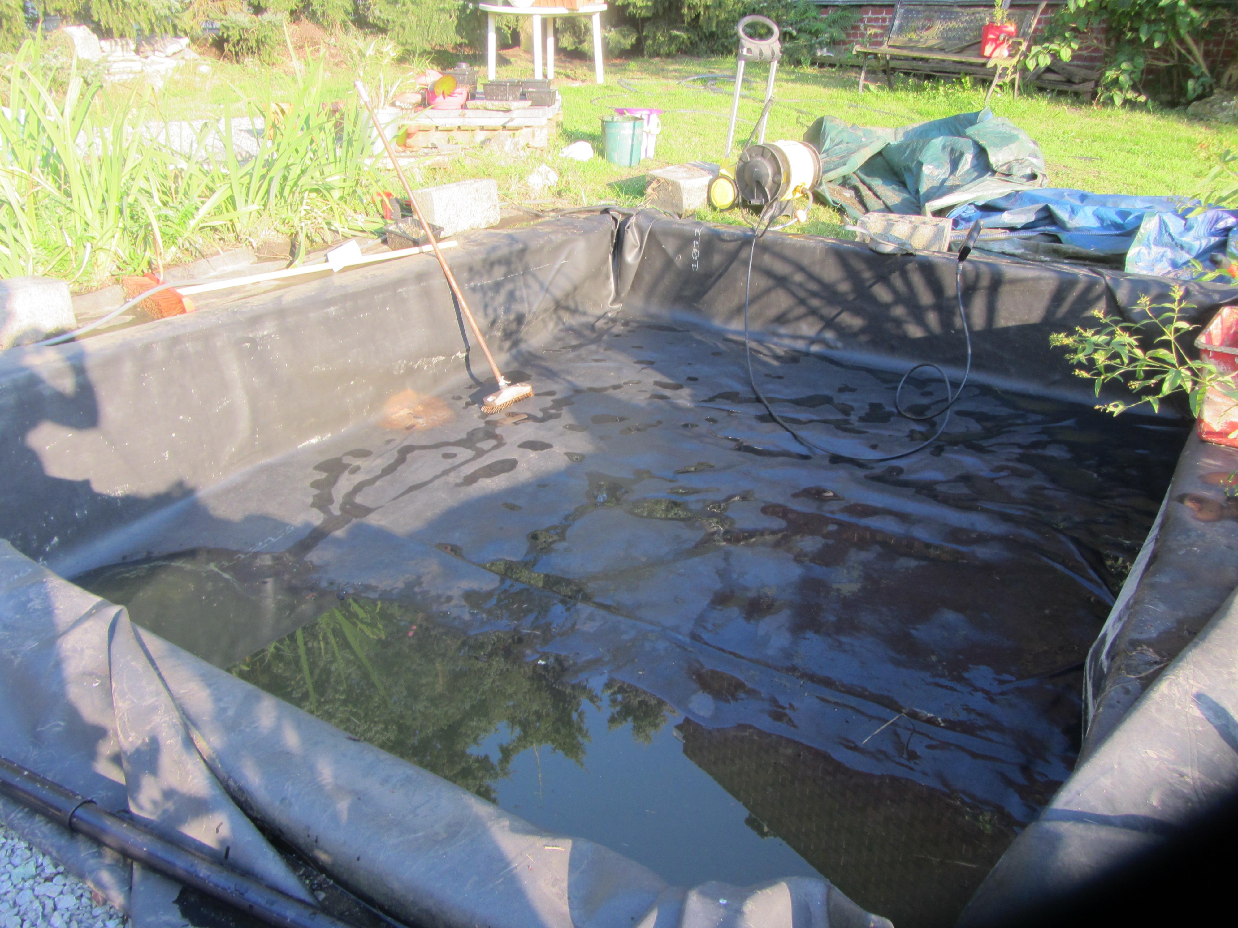 Faire Une Cascade Sans Pompe bassin poisson exterieur sans pompe