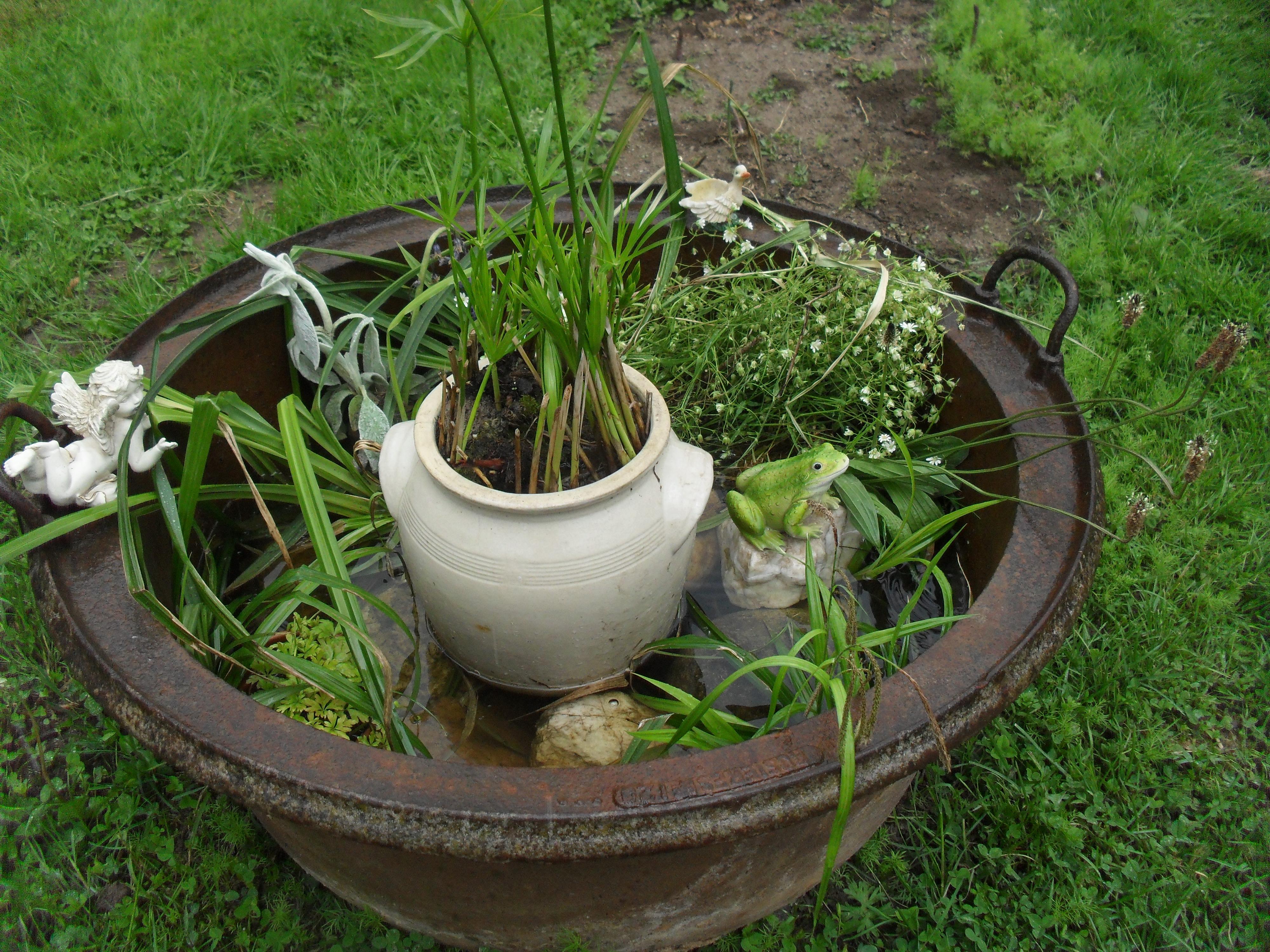 Faire Une Cascade Sans Pompe bassin d'eau sans pompe
