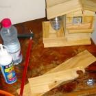 Fabrication cabane à oiseaux