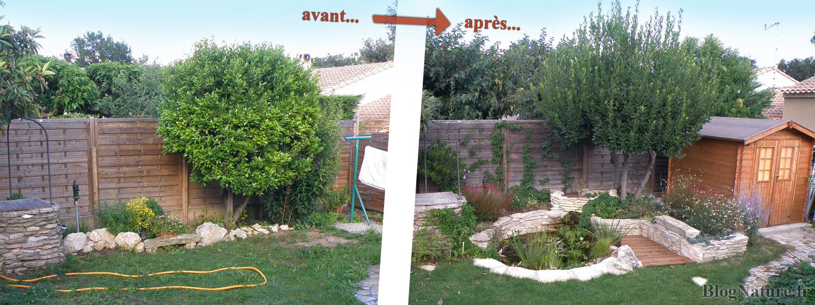 Emejing Bassin De Jardin Facile Ideas - Design Trends 2017 ...