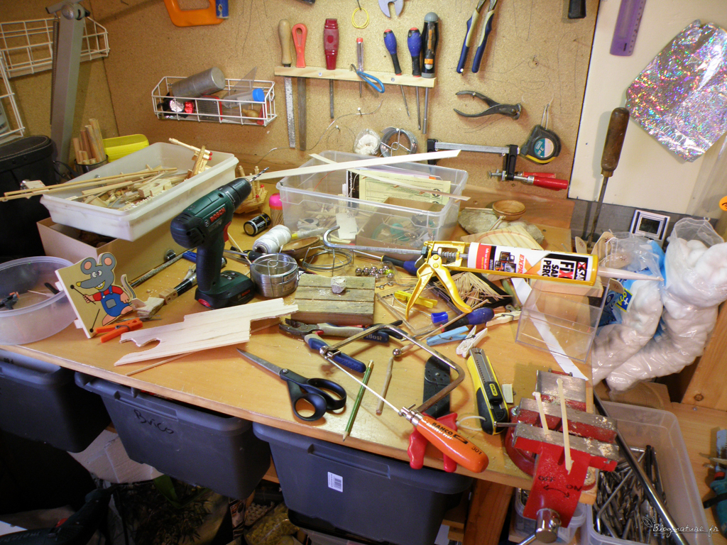 atelier machine à bille