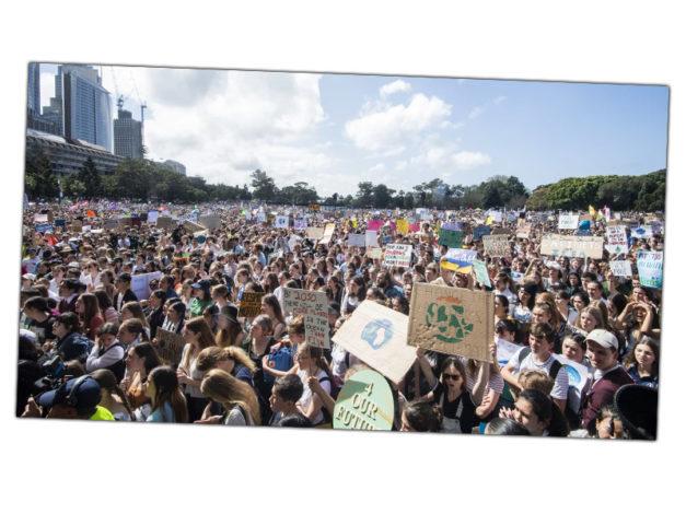 80 000 marcheurs pour le climat, Sydney, 2019.