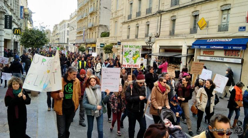marche pour le climat, Avignon, 2019